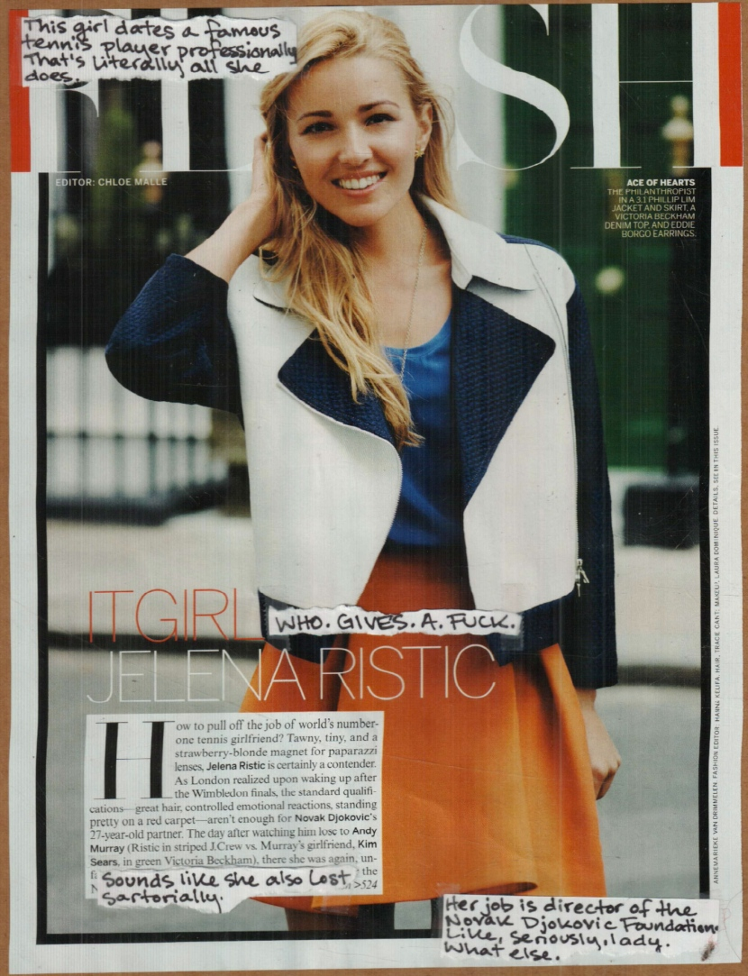 RV Sept 2013 It Girl: Jelena Ristic