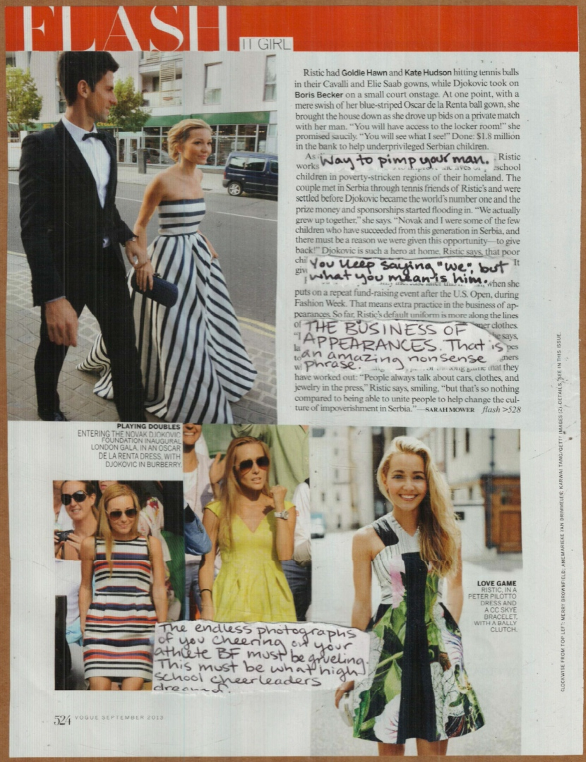 RV Sept 2013 It Girl: Jelena Ristic 2